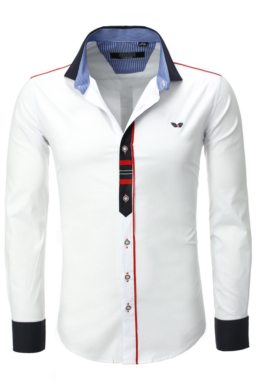 La chemise est un vêtement intemporel installé dans les habitudes des hommes qui recherchent fonctionnalité et élégance au quotidien. Pour les hommes, porter une belle chemise est signe de maturité, de statut et permet de se distinguer discrètement auprès de son entourage.
