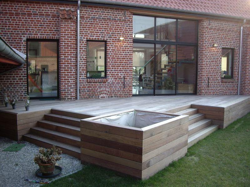 Si j'ai choisi une terrasse bois exotique, c'est parce que je suis ...