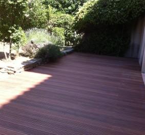 Le charme de la terrasse bois exotique