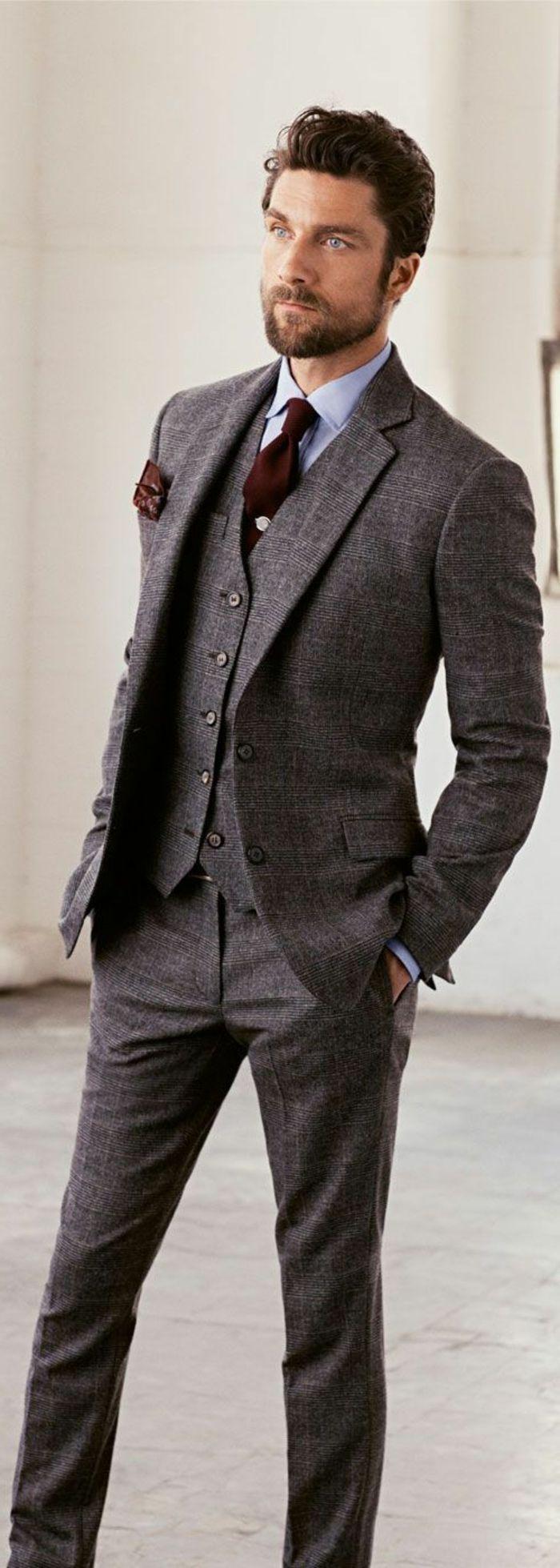 un costume crois homme affirme votre allure chic et classe. Black Bedroom Furniture Sets. Home Design Ideas